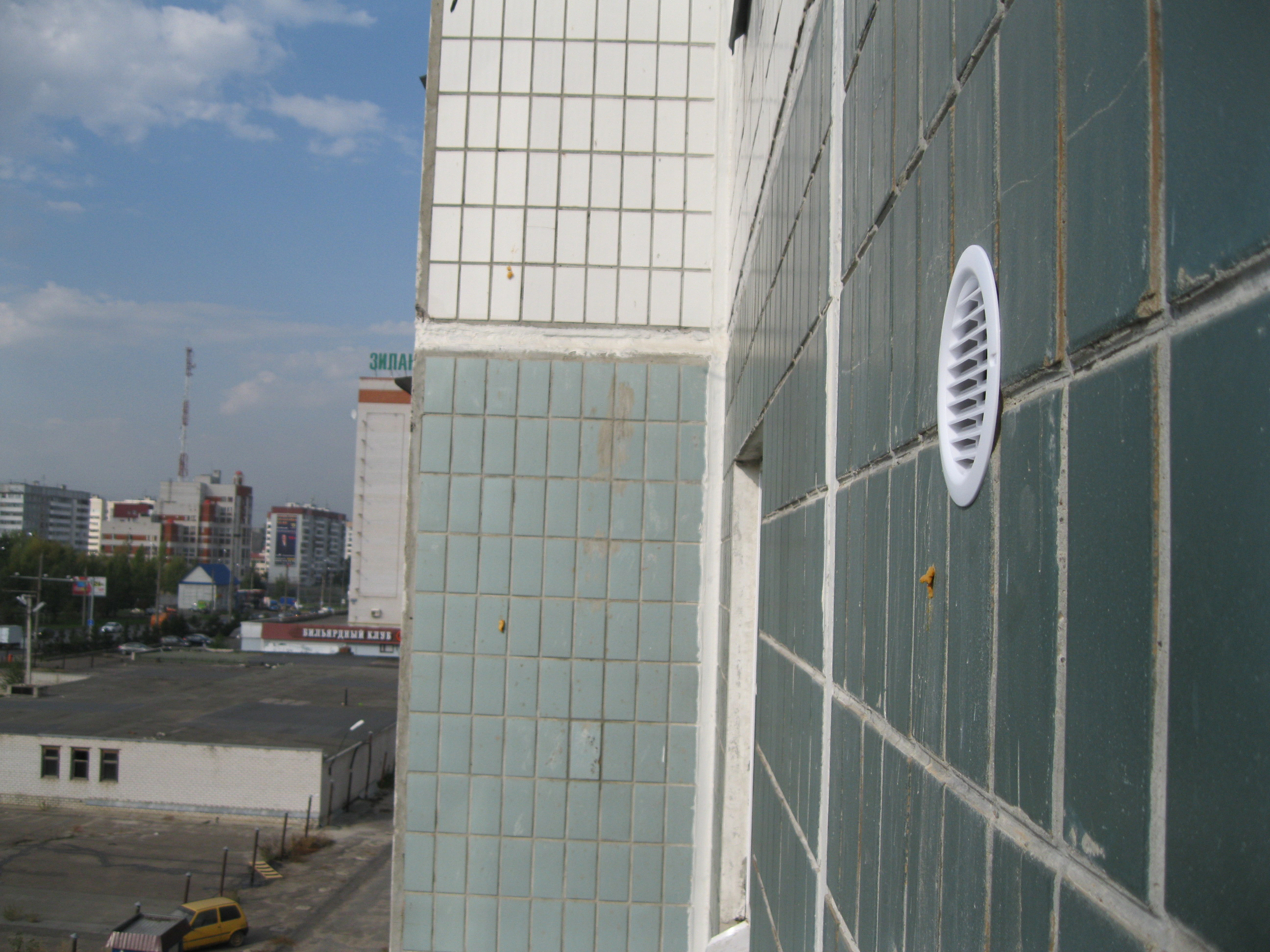 установка декоративной решетки