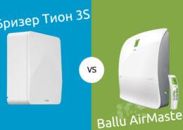 Бризер 3S vs Ballu AirMaster