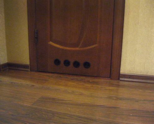 Переточные решетки в квартире