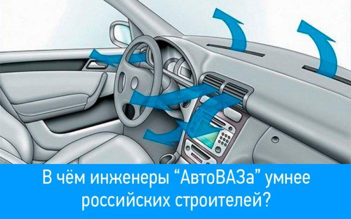 Вентиляция в автомобиле