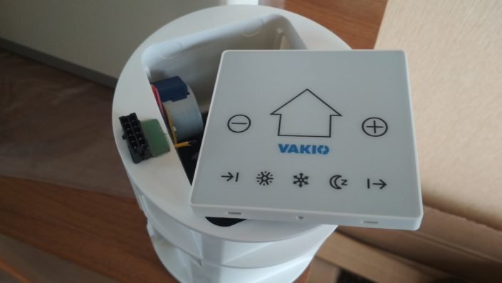 Как установили рекуператор Vakio